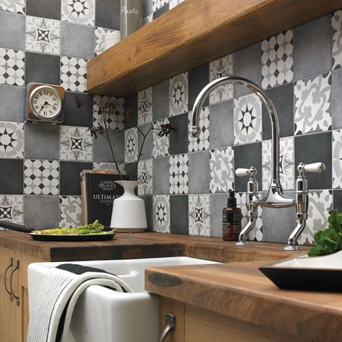 latest tiles for kitchen kitchen tiles wickes co uk 6862