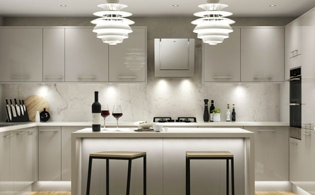 Glencoe Contemporary Kitchen Range | Wickes.co.uk