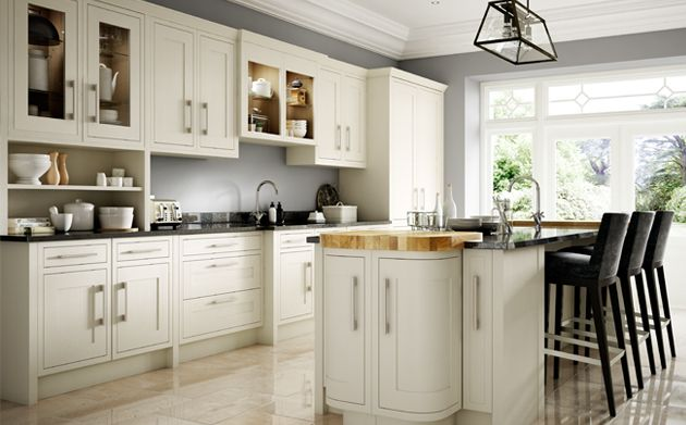 Heritage traditional kitchen range for Wickes kitchen cupboards
