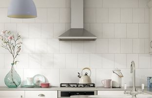White Kitchen Tiles Wickes