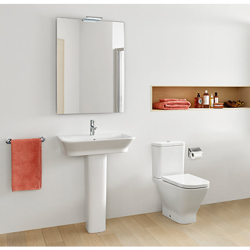 Roca The Gap Basin U0026 Toilet Suite