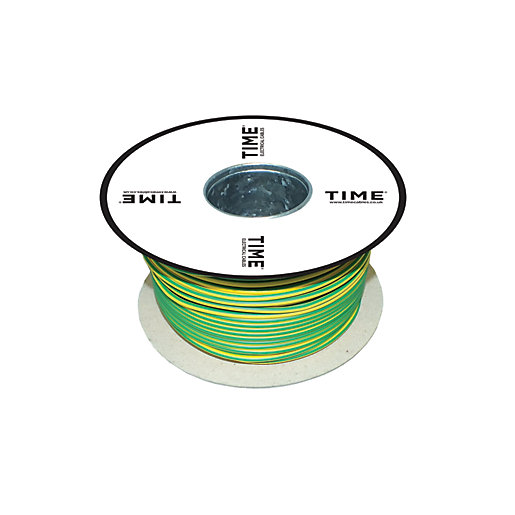 Geen Amp Yellow Single Core Cable : Pitacs mm² single core conduit wiring green