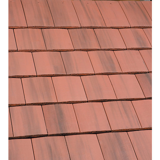Marley Ashmore Interlocking Double Plain Roofing Tile Old