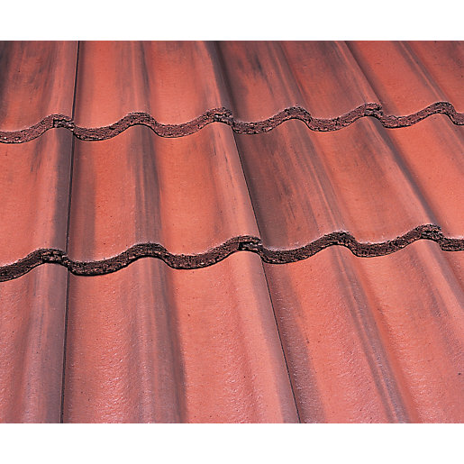 Marley Mendip Roofing Tile Old English Dark Red Travis