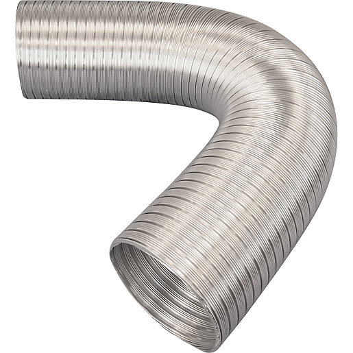 Iflo Aluminium Flexible Ducting 100mm X 1500mm Travis