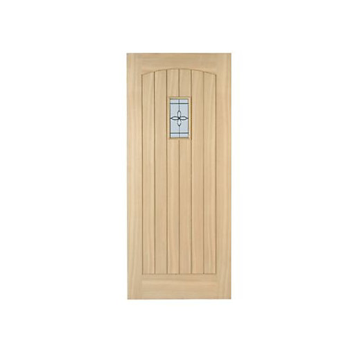 External Glazed Wood Doors External Double Glazed Oak Doors