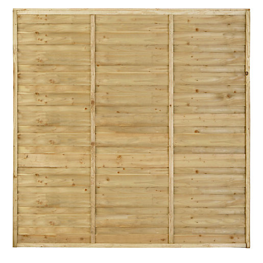 larchlap solway pressure treated fence panel 1828mm x. Black Bedroom Furniture Sets. Home Design Ideas