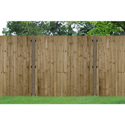 pressure treated feather edge fence panel 1800mm x 120mm. Black Bedroom Furniture Sets. Home Design Ideas