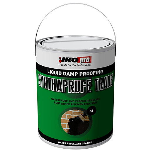 Aquatex Damp Proofing Systems Waterproof Wall Paints: Ikopro Synthaprufe Waterproofer Trade - 25LTR