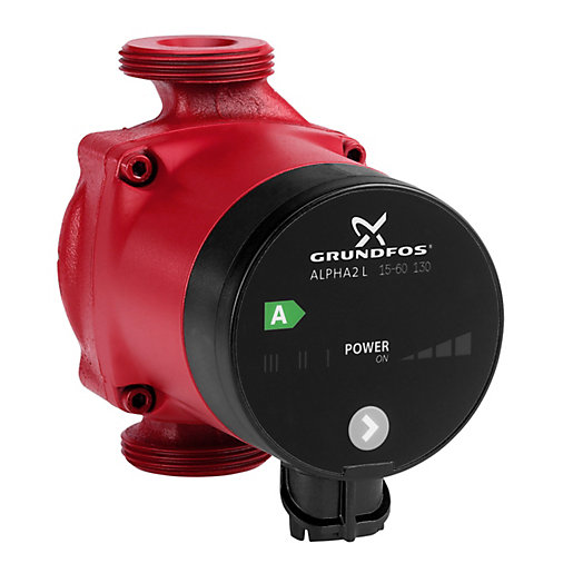 grundfos alpha 2l domestic pump 15 60 travis perkins. Black Bedroom Furniture Sets. Home Design Ideas