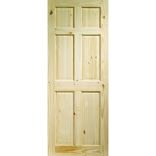 Use And Keys To Zoom In Out Arrow Move The Zoomed Portion Of Image Softwood Knotty 6 Panel Pine Internal Door