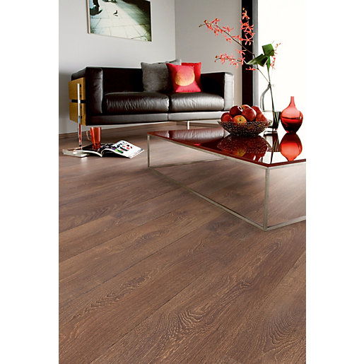 Laminate flooring kronospan shire oak uniclic locking for Uniclic flooring