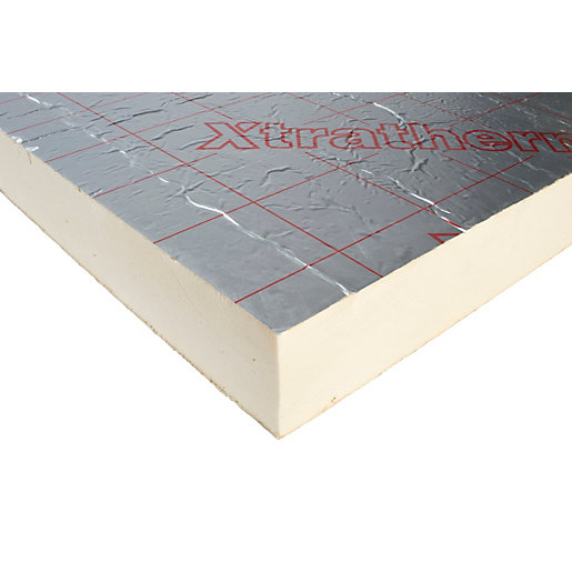 Superior Xtratherm Pitched Roof Insulation Board 100mm X 1200mm X 2400mm