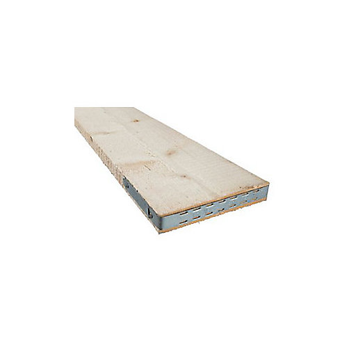 end banded timber scaffold boards bs2482 38mm x 225mm x 39m