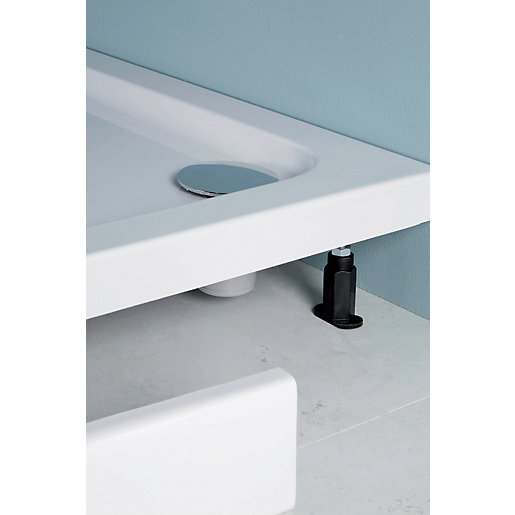 Iflo Shower Tray Offset Quad Panel And Leg Pack 1200mm
