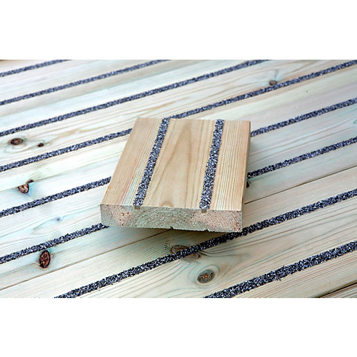 Anti Slip Timber : Antislip smooth treated timber decking mm