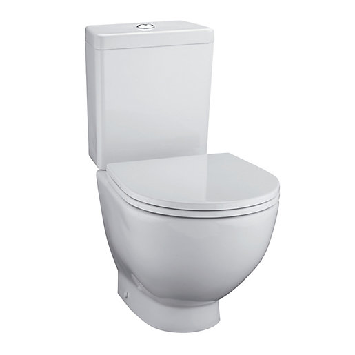 ideal standard close coupled back to wall toilet pan e000101 travis perkins. Black Bedroom Furniture Sets. Home Design Ideas