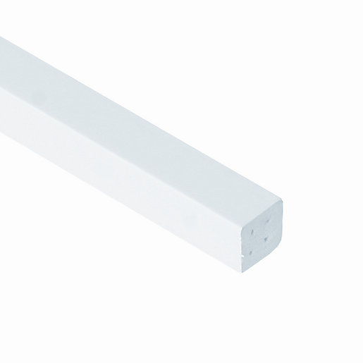 Eurocell window trim upvc large quadrant white for Window quadrant