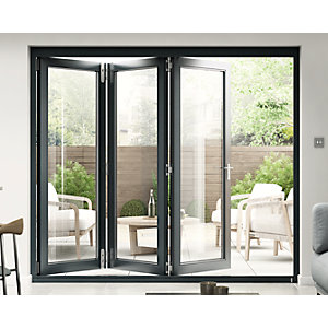 54mm Grey Sliding Folding Door Set