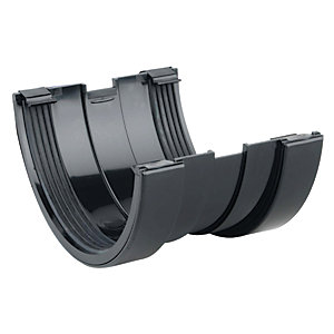 Osma RoofLine 6T609 Gutter Union 150mm Black