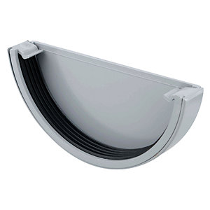 Osma RoofLine 6T611 External Stopend 150mm Grey