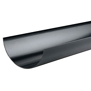Osma RoofLine 6T674 Gutter 150mm Black 4M