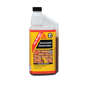 Sika Maxmix Colour Red Cement 1L