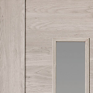 Alabama Fumo Internal Laminate Prefinished Glazed Door