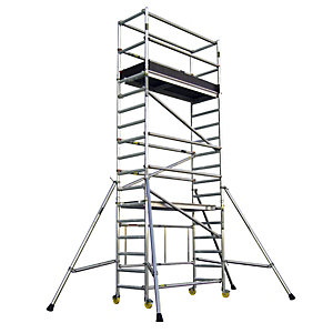 Alloy Tower .85 x 2.5 x 1.7m 3T