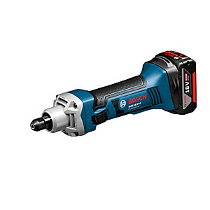 Bosch GGS 18 V-LI 18V Straight Grinder Body Only in an L-boxx