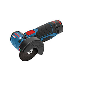 Bosch Gws 12V-76 Brushless 12V Angle Grinder Body Only with  x 3 Cutting Discs
