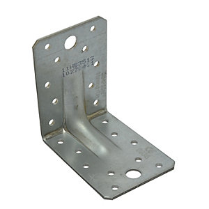 Simpson Strong-Tie Reinforced Angle Bracket 100 x 60 x 75mm E4