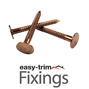 Easytrim 25 X 3.35 Copper Ring Shank Nails 1Kg