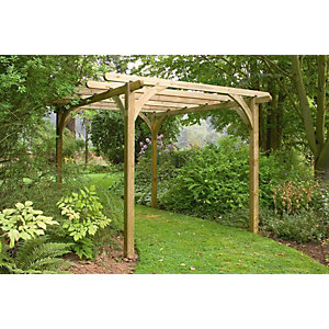 Pressure Treated Timber Large Ultima Pergola Arch