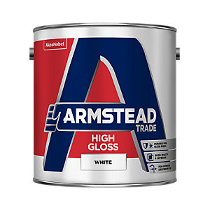 Armstead Trade High Gloss Paint White