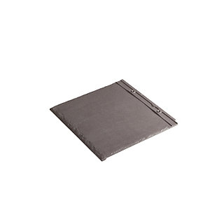 Redland Cambrian Left Hand Verge Slate Heather Roofing Tile