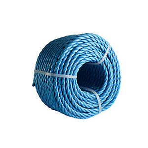 4Trade Polyprop Rope Coil Blue 30m x 8mm