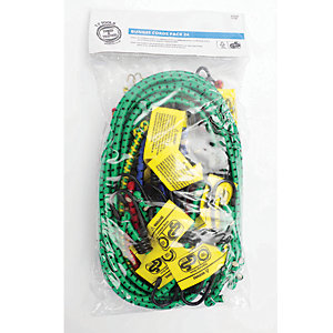 Status Bungee Cords Assorted Pack 24