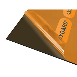 Axgard Glazing Sheet Bronze 4mm UV 500mm