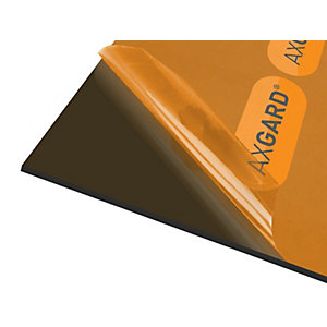Axgard Glazing Sheet Bronze 5mm UV 500mm x 500mm