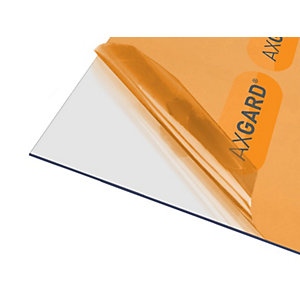 Axgard Glazing Sheet Clear 2mm UV Protect 500mm