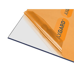 Axgard Glazing Sheet Clear 4mm UV 1250mm