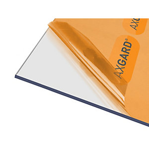 Axgard Glazing Sheet Clear 5mm UV 1000mm