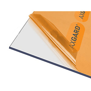 Axgard Glazing Sheet Clear 6mm UV 500mm