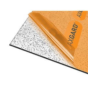 Axgard Glazing Sheet Patterned 4mm UV 1000mm