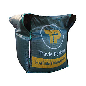 Travis Perkins Gravel and Shingle Bulk Bag 20mm