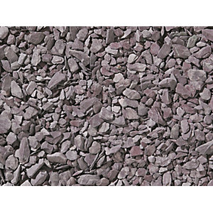 Travis Perkins Plum Slate 20mm Bulk Bag