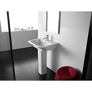 Roca the Gap 1 Taphole 55cm Basin and Pedestal