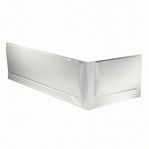 Twyford Omnifit End Bath Panel White PP2172WH