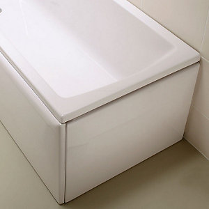 Vitra 54940001000 Neon Flat Bath End Panel 750mm
